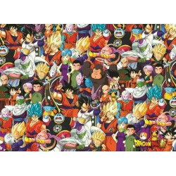 Puzzle 1000 pièces - Dragon Ball - Impossible Puzzle