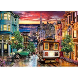 Puzzle 3000 pièces - San Francisco