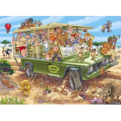 "Puzzle 1000 pièces - Wasgij Original 31 ""Safari Surprise"""