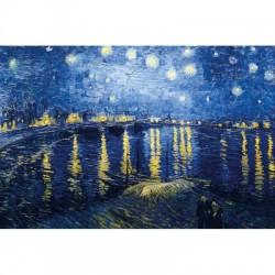 Puzzle 150 pièces - Nuit Étoilée sur le Rhône