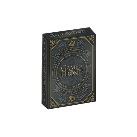 Cartes à jouer Game of Thrones 3rd Edition (Dark)