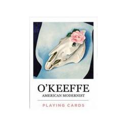 Cartes à jouer O'Keeffe - American Modernist