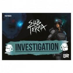 Sub Terra extension 1 - Investigation