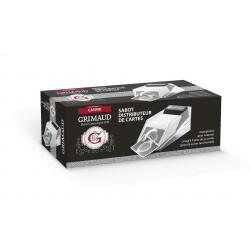 Sabot Cartes Transparent Grimaud - 6 paquets
