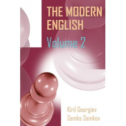 Georgiev & Semkov - The Modern English: Volume 2: 1...c5, 1...Nf6, and 1...e6