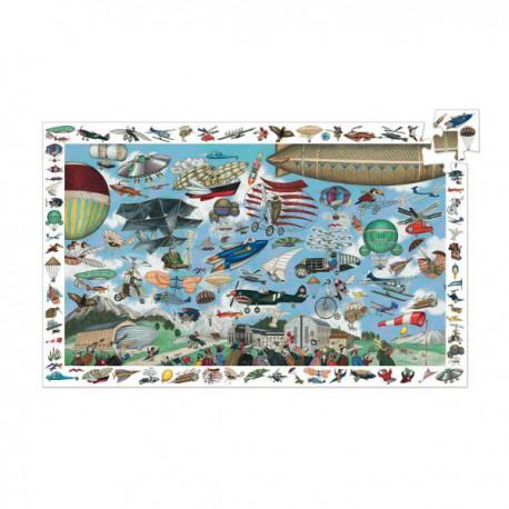 Puzzle 200 pièces - Aéro Club - Observation
