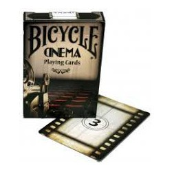 Cartes à jouer Bicycle Cinema