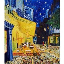 Puzzle 1000 pièces - Terrasse de café le soir - Van Gogh