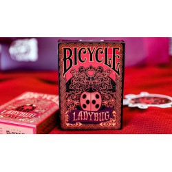 Cartes à jouer Bicycle Ladybug Red