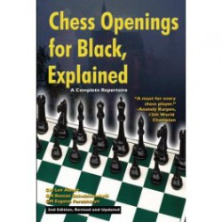 ALBURT, DZINDZIHASHVILI, PERELSHTEYN - Chess Openings for Black, Explained 2nd edition