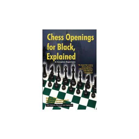 ALBURT, DZINDZIHASHVILI, PERELSHTEYN - Chess Openings for Black, Explained 2nd edition