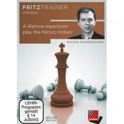 DVD Kasimdzhanov - Lifetime repertoire: play the Nimzo Indian
