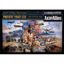Axis & Allies: Pacific 1940 Seconde Edition (anglais)