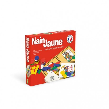 Nain Jaune (plateau décor bois)