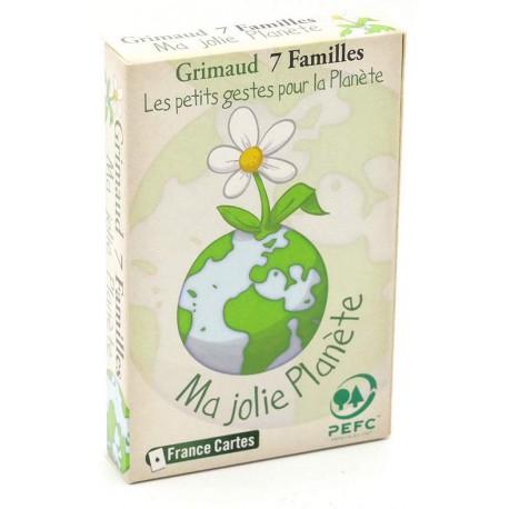 Jeu de 7 familles Ma Jolie Planète