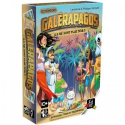 Galerapagos ext. Tribu et Personnage