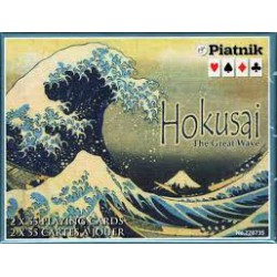 Cartes à jouer La Vague d'Hokusai