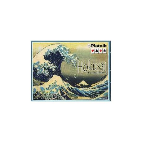 Cartes à jouer La Vague d'Hokusai