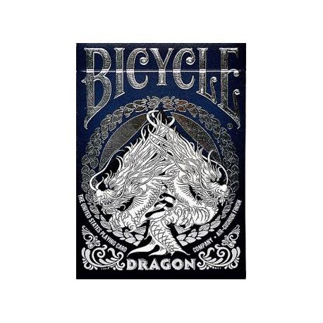 Cartes à jouer Bicycle Dragon - Dark