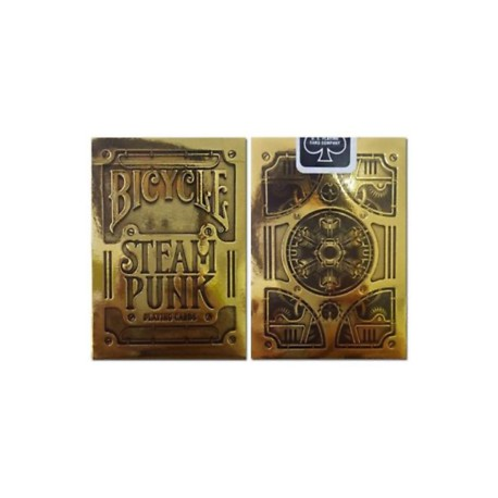 Bicycle Steam Punk Gold