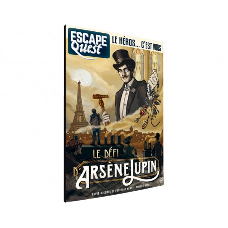 Escape Quest vol.4: Le Défi d'Arsène Lupin