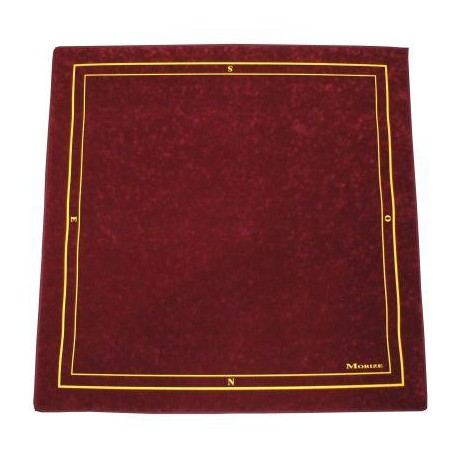 Tapis Bridge Bordeaux 75x75cm