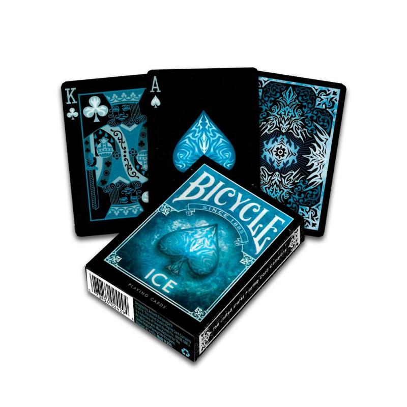 jeu de carte bicycle Acheter Cartes Bicycle Ice   Boutique de jeux de cartes Variantes