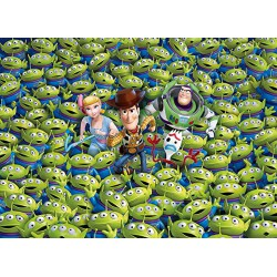 Puzzle 1000 pièces Impossipuzzle - Toy Story