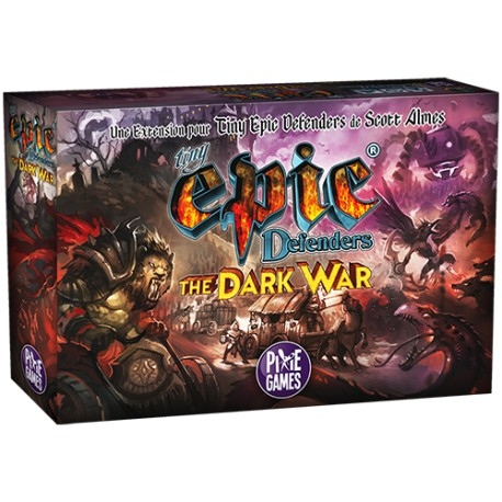 Tiny Epic Defenders: The Dark War