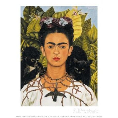 Puzzle 1000 pièces - Chats noirs, Frida Kahlo