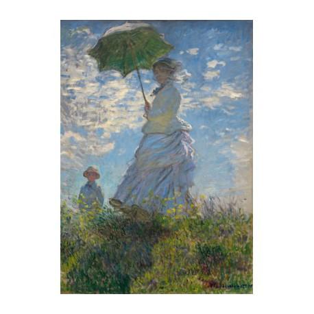 Puzzle 1000 pièces - La Femme à l'Ombrelle, Claude Monet