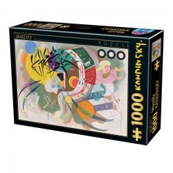 Puzzle 1000 pièces - Dominant Curve de Kandinsky