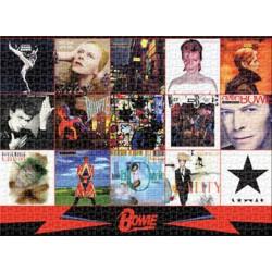 Puzzle 1000 pièces - David Bowie Albums