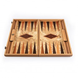 Backgammon Manopoulos Olive Luxe 30cm