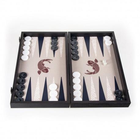 Backgammon Japonais Koi 48x26cm