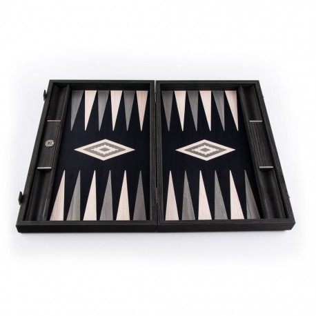 Backgammon Pearly Grey 30x20cm