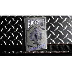 Cartes à jouer Bicycle Metalluxe Cobalt Blue V2