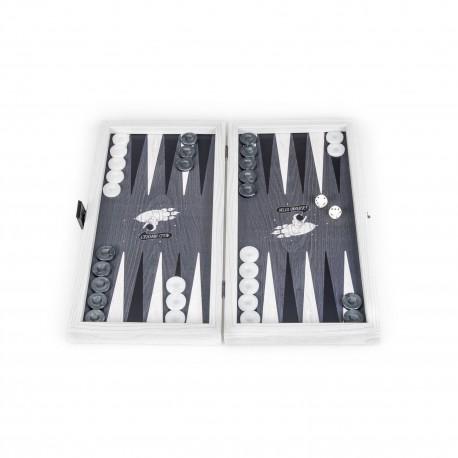 Backgammon Hello Universe 30x17cm
