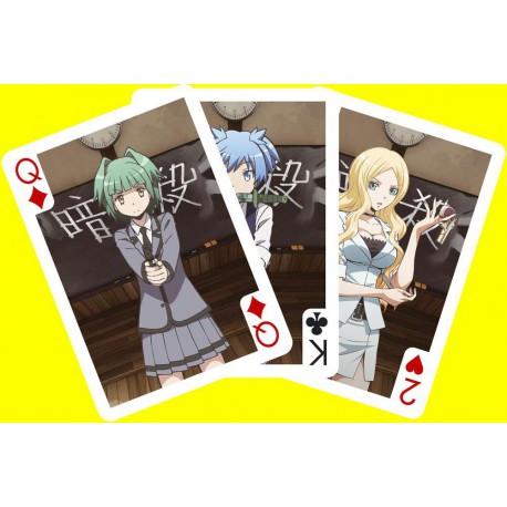 Cartes à jouer Assassination Classroom