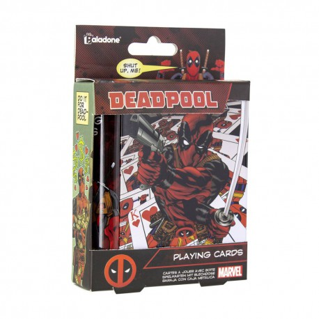 Cartes à jouer Deadpool