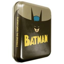 Cartes à jouer DC Comics Batman Boite Metal Vintage