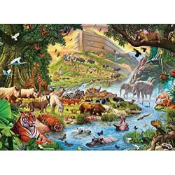 Puzzle 500 pièces - Arche de Noé, Crisp (Pièces XXL)