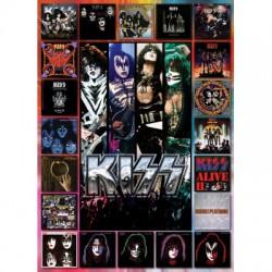 Puzzle 1000 pièces - Kiss The Albums