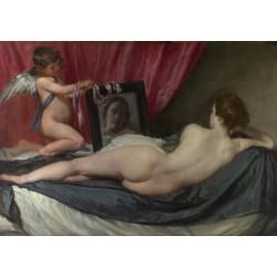 Puzzle 1000 pièces - Vénus à son Miroir de Diego Velasquez