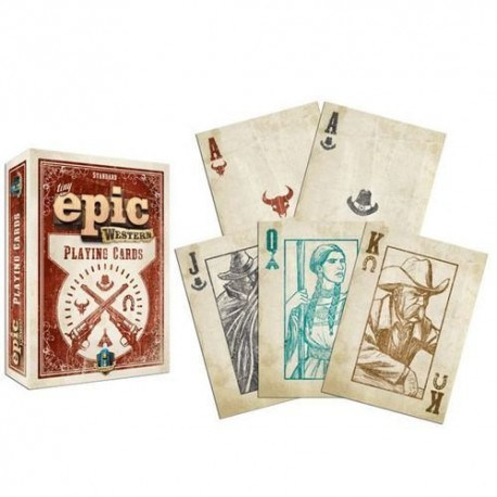Cartes à jouer Tiny Epic Western