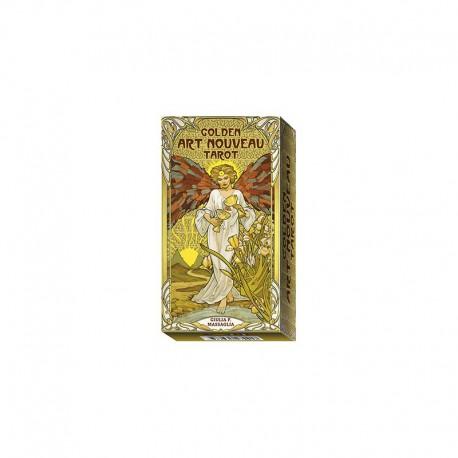 Tarot divinatoire Golden Art Nouveau