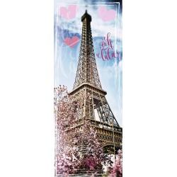 Puzzle 1000 pièces - Tour Eiffel Ooh Lala (Panorama)