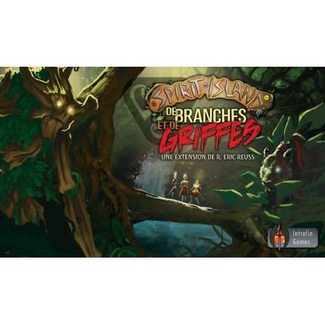 Spirit Island - extension De Branches et de Griffes