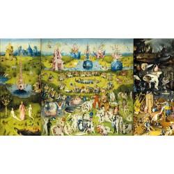 Puzzle 1000 pièces - Jardin des délices de Bosch