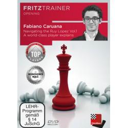 DVD Caruana - Navigating the Ruy Lopez Volume 1